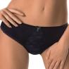 SENSUELLE Black Lace Bikini Panties