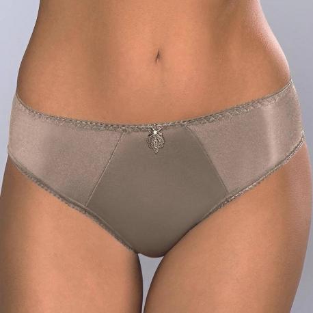 OLIVIA Golden Olive Smooth Bikini Panties