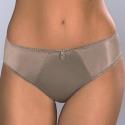 Olivia - Golden Olive Smooth Bikini Panties