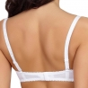 EVON White Spacer Demi Bra