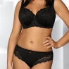 ELLICE Black Lace Full Coverage Bra