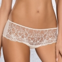 Selena - Light Cream Sheer Hipster Panties