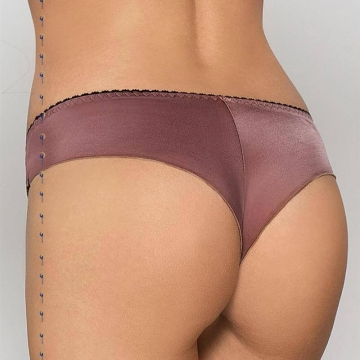 Cheri Mocha Sleek Bikini Panties