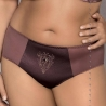 Cheri Mocha Full Figure Bikini Panties