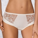 Selena - Light Cream Sheer High Waist Brief