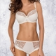 Selena Light Cream Sheer High Waist Brief