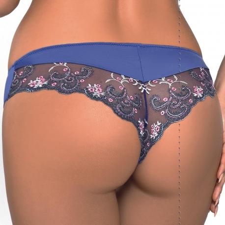 Sheilla Sapphire Blue Cheeky Panties