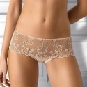 Sheer Hipster Panties Light Beige - Paola