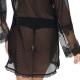 Mistique - Ultra Sheer Black Robe