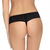 Venus - Black Sheer Tulle Thongs