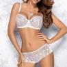 Pamela - White Sheer Bra For Bigger Sizes