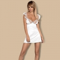 White Sheer Chemise - Feelia Set