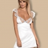 Feelia - White Bridal Chemise Set
