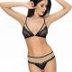 Venus - Black Lace Bralette Bra