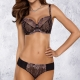 Zoe Unlined Black Sheer Bra in Large Sizes