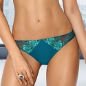 Leticia - Green Lace Sheer Thongs