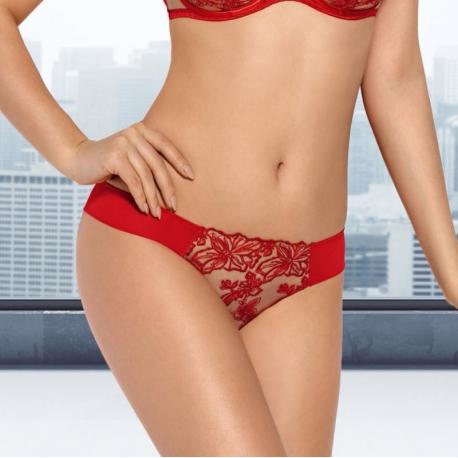 Nori - Red Seamless Ultra Sheer Thongs
