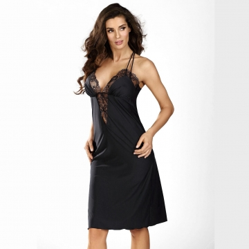Black Diamond - Black Lace Chemise