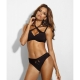 Cat Eye - Black Unlined Balconette Bra