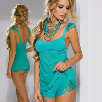 Jelly Beans - Green 2 Piece Night Set
