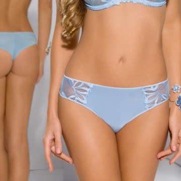 Cookie - Blue Sheer Thongs