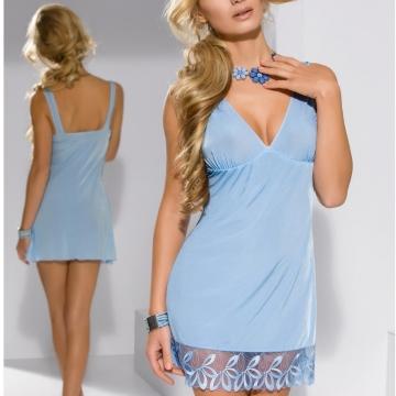 Custom Order Nightwear Cookie - Blue Chemise