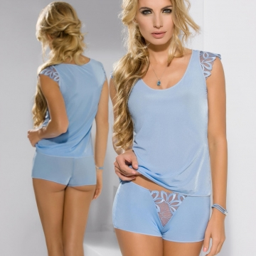 Cookie - Blue 2 Piece Night Set