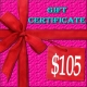 $105 Lacy Hint :: Gift Certificate