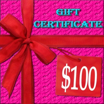 $100 Lacy Hint :: Gift Certificate