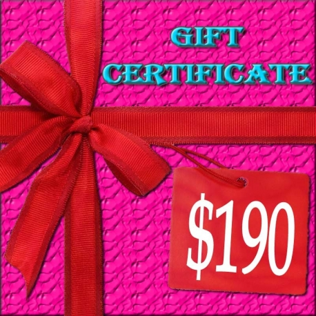 $190 Lacy Hint :: Gift Certificate