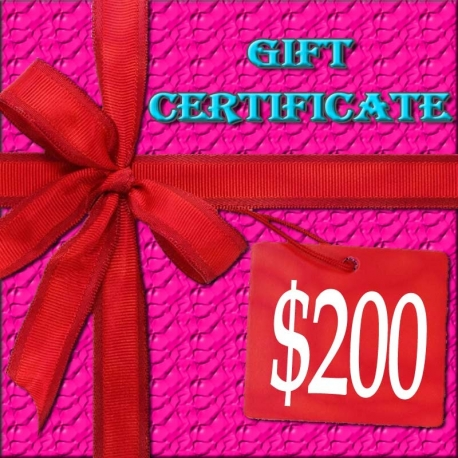 $200 Lacy Hint :: Gift Certificate