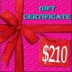 $210 Lacy Hint :: Gift Certificate