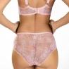 Pink Wink - Pink Sheer Bra Plus Sizes