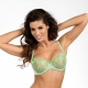Mint - Green Sheer Balconette Bra