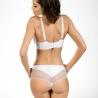 Your Angel - White Sheer Bra Plus Sizes