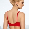 Nori - Red Ultra Sheer Balconette Bra