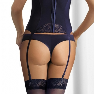 Night in Venice - Navy Blue Thongs 2