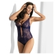 Night in Venice - Navy Blue Lace Body