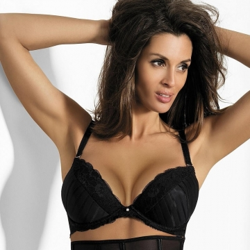 Bras  Starlight Night - Black Lace Push up Bra