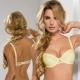 Honey - Yellow Lace Push up Bra