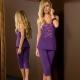 Boho - Purple Pajama Set Long