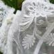 Pamela - White Lace Sheer Bra Balconette