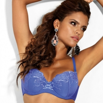 Bras  So Special - Blue Lace Push up Bra