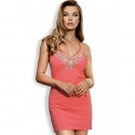Ray of Light - Coral Sheer Nightie