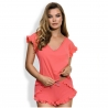 Ray of Light - Coral Pajama Set