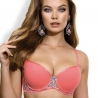 Ray of Light - Coral Push up Bra