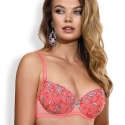 Ray of Light - Coral Padded Push up Bra