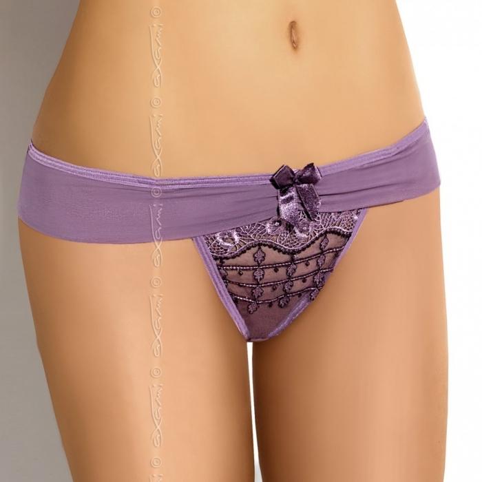 Violet - Luxury Mesh Thong Panties