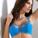 Acai - Blue Sheer Bra Plus Sizes
