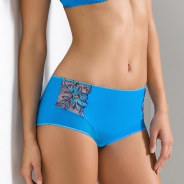 Acai - Blue Sheer Bikini maxi